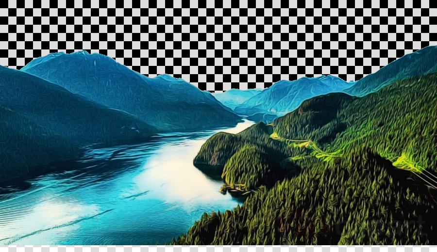 natural landscape nature water resources mountainous landforms mountain
