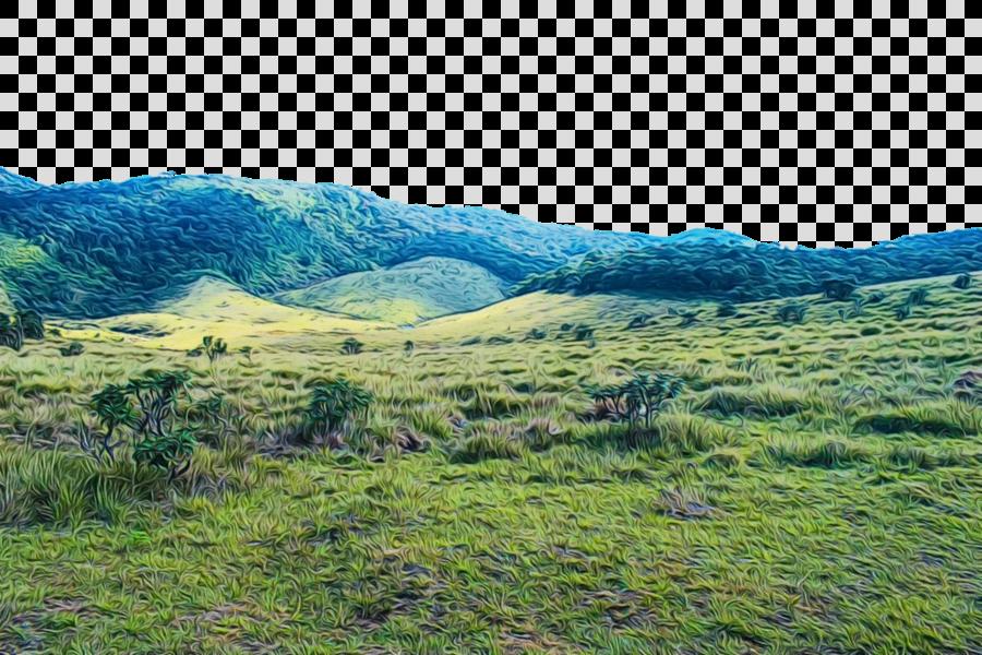highland vegetation natural landscape nature mountainous landforms