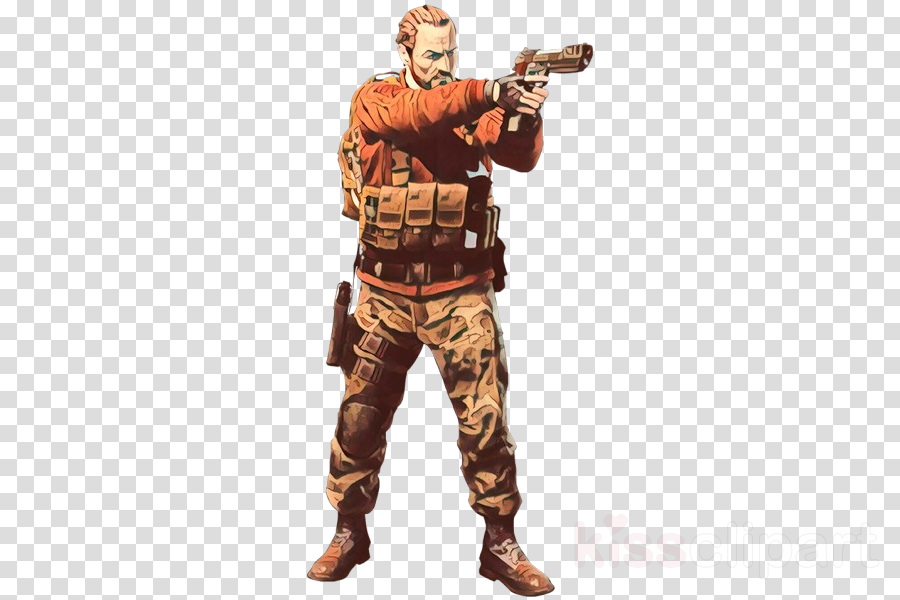 soldier military camouflage camouflage action figure gun