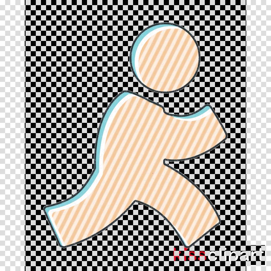 aim icon media icon network icon clipart logo electric blue label transparent clip art kissclipart