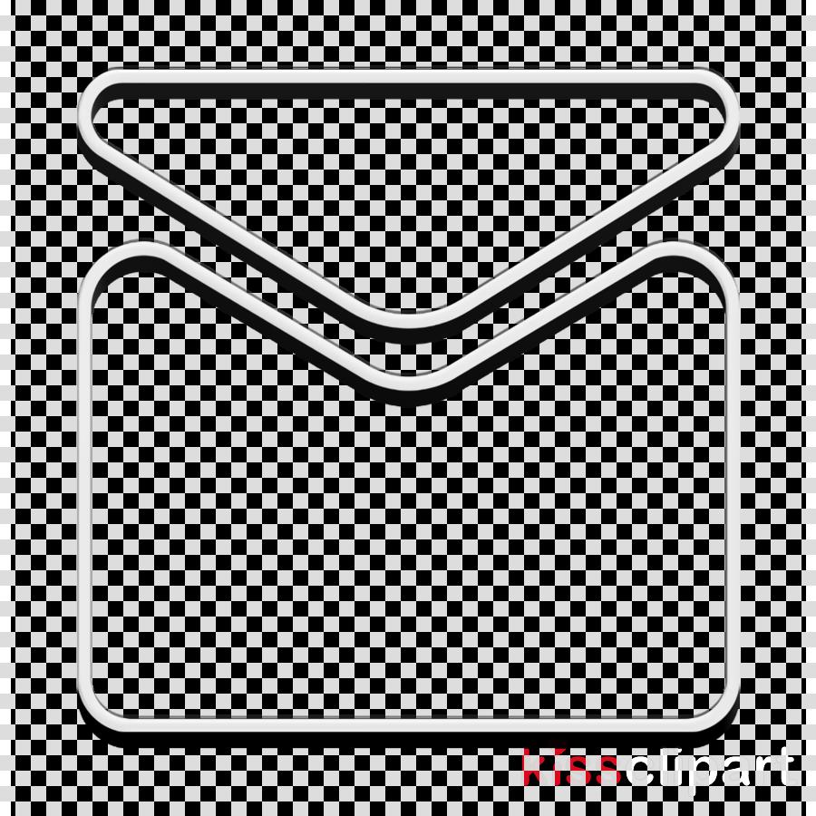 envelope icon inbox icon letter icon