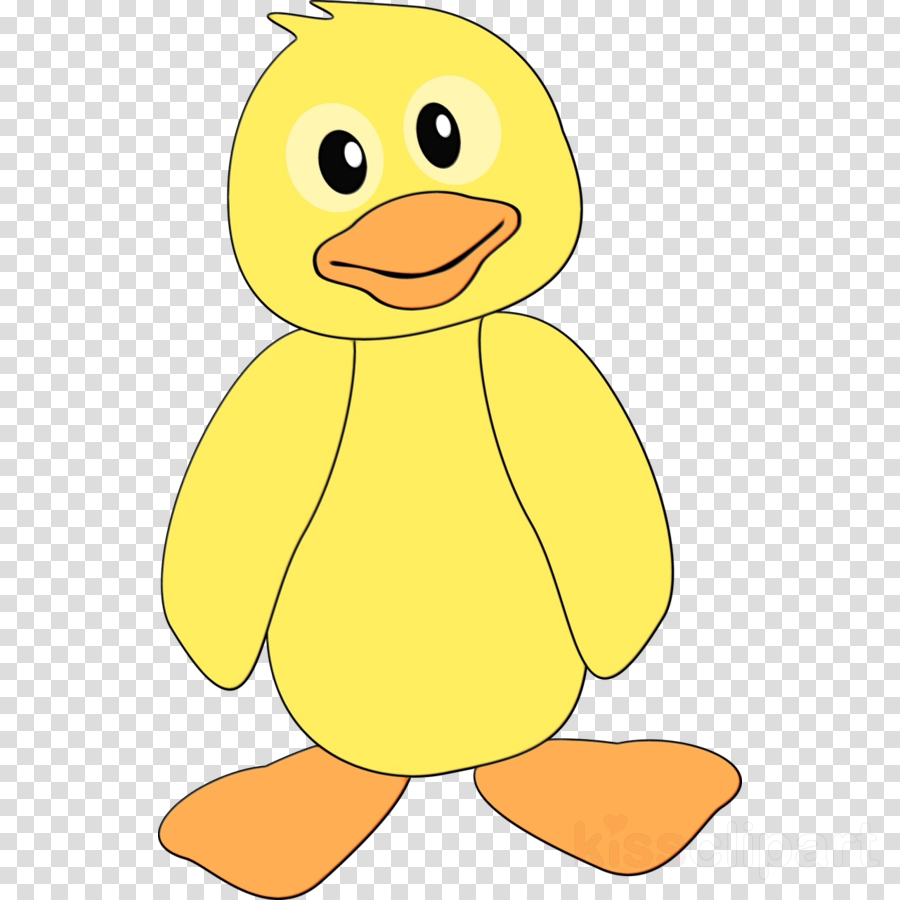yellow bird cartoon ducks, geese and swans toy