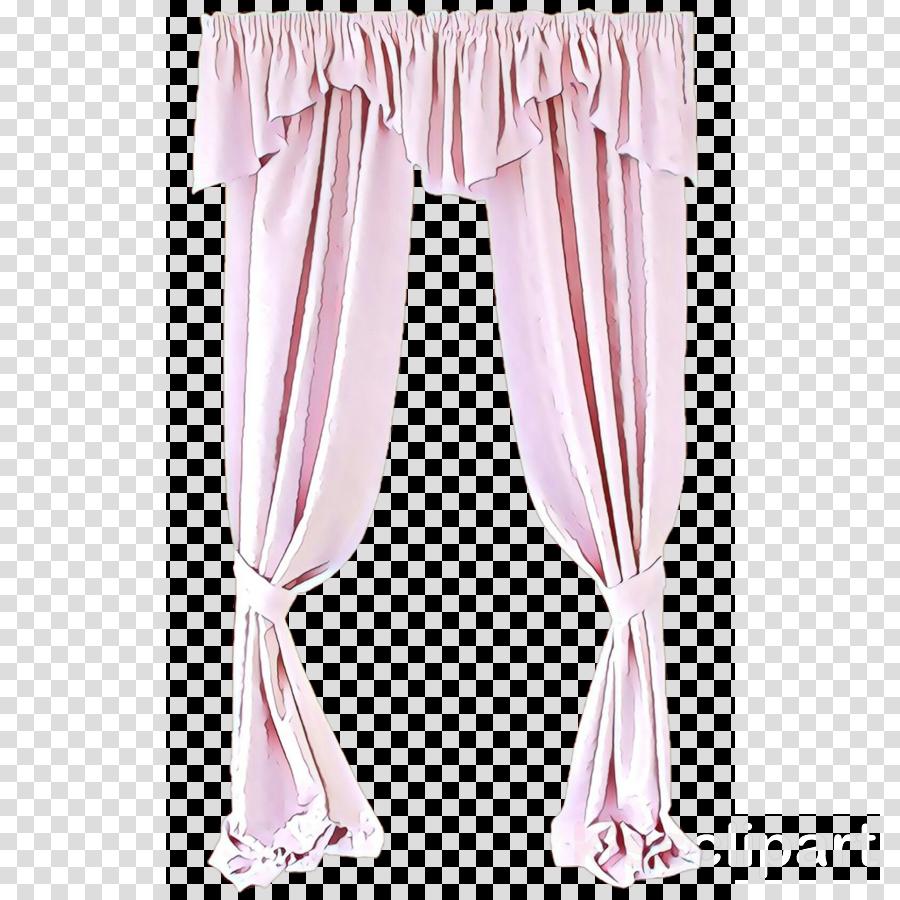 curtain pink window treatment textile interior design