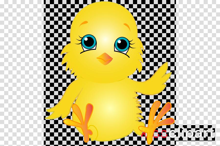 Yellow Bird Clip Art