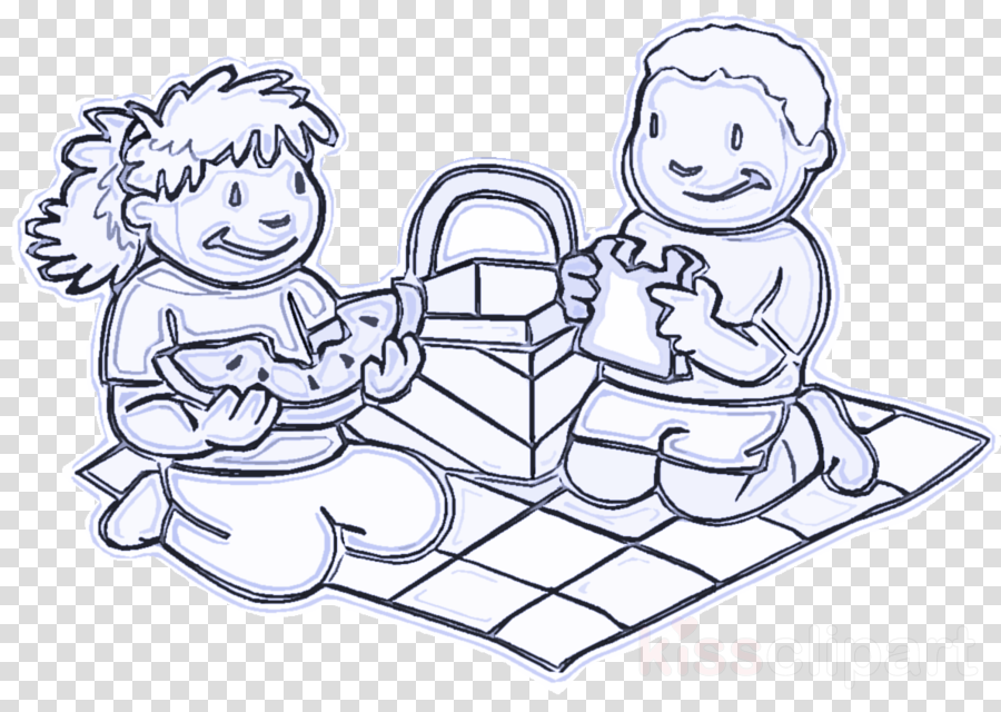 white line art child coloring book black-and-white clipart ...