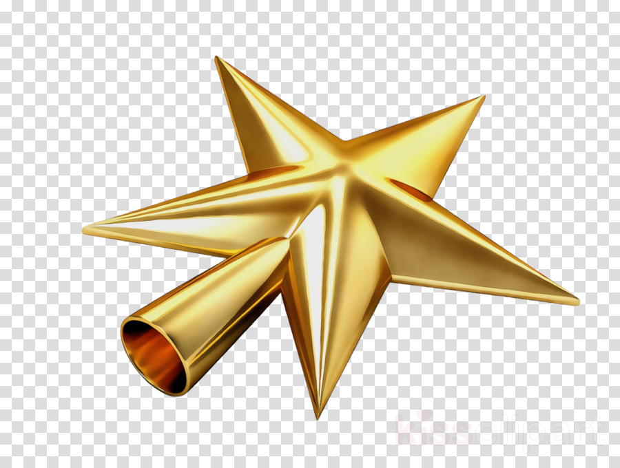 star gold metal