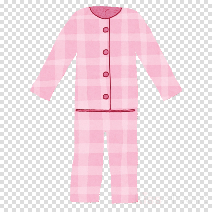 clothing pink pajamas sleeve nightwear