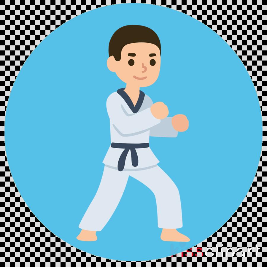Karate Cartoon Martial Arts Martial Arts Uniform Taekwondo Clipart Karate Cartoon Martial Arts Transparent Clip Art