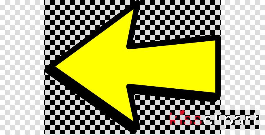 Arrow clipart - Arrow, Yellow, Sign, transparent clip art