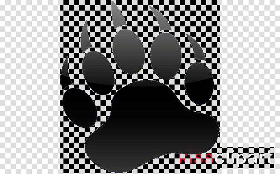 paw snout whiskers clip art logo