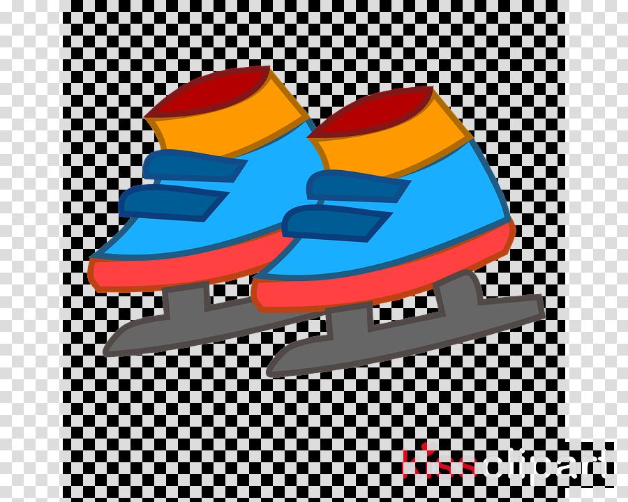 ice hockey equipment clip art footwear ice skate cartoon