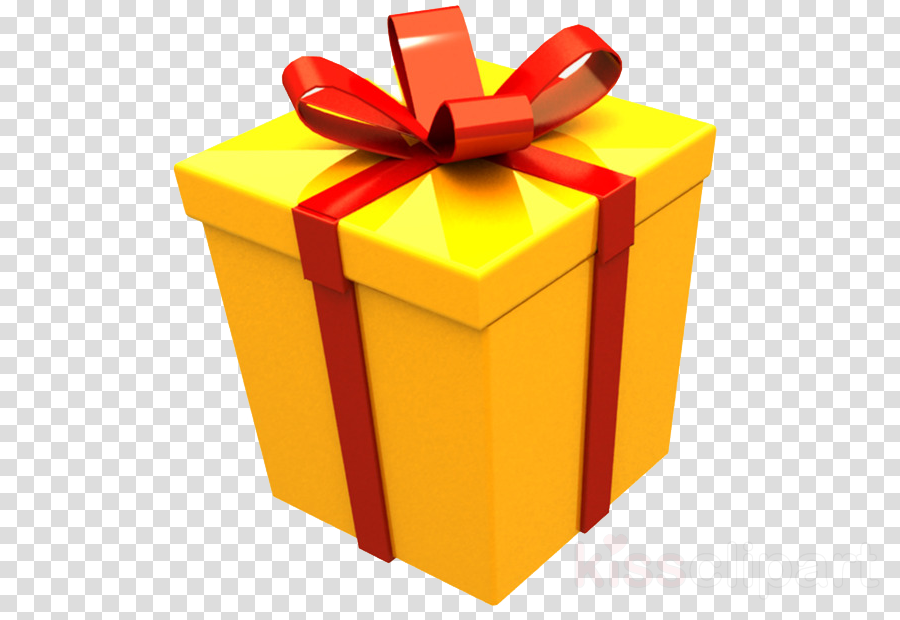 present ribbon yellow gift wrapping box clipart - Present, Ribbon, Yellow,  transparent clip art
