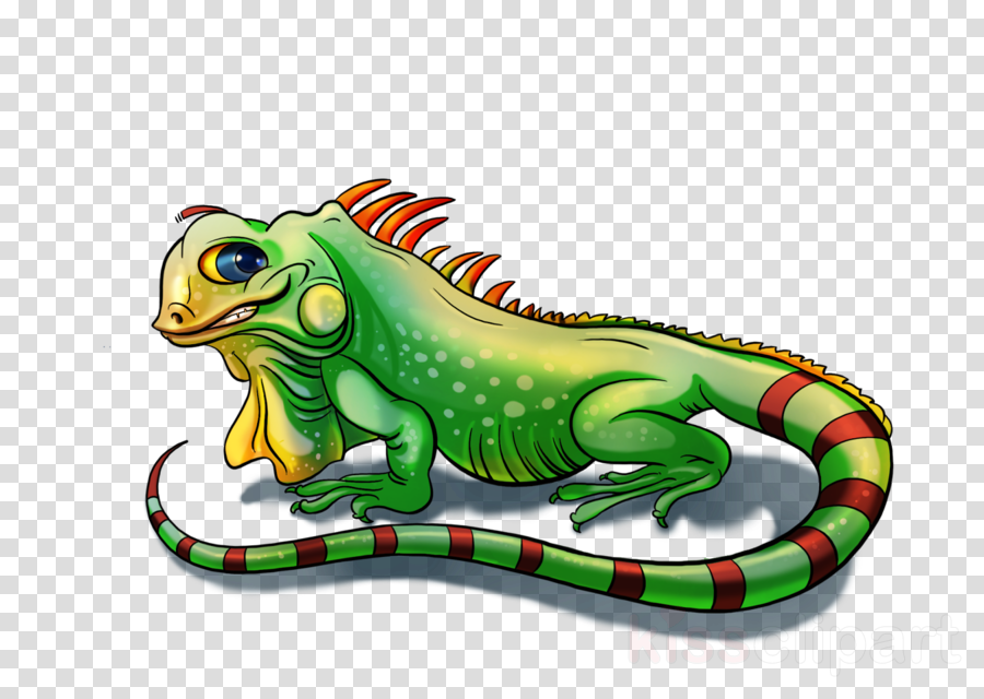 lizard green reptile clip art cartoon