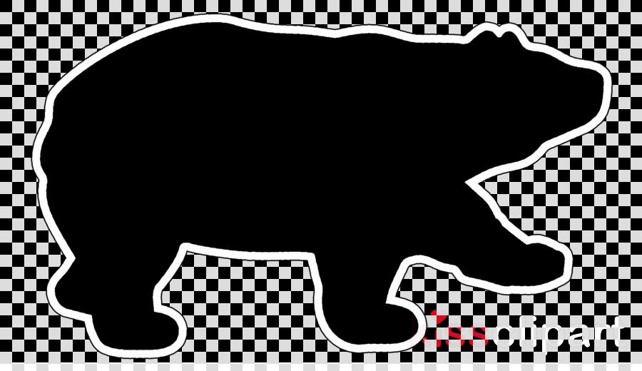 bear clip art snout grizzly bear sticker