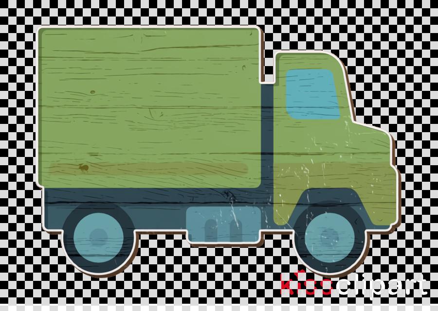 Transport icon Management icon Trucking icon