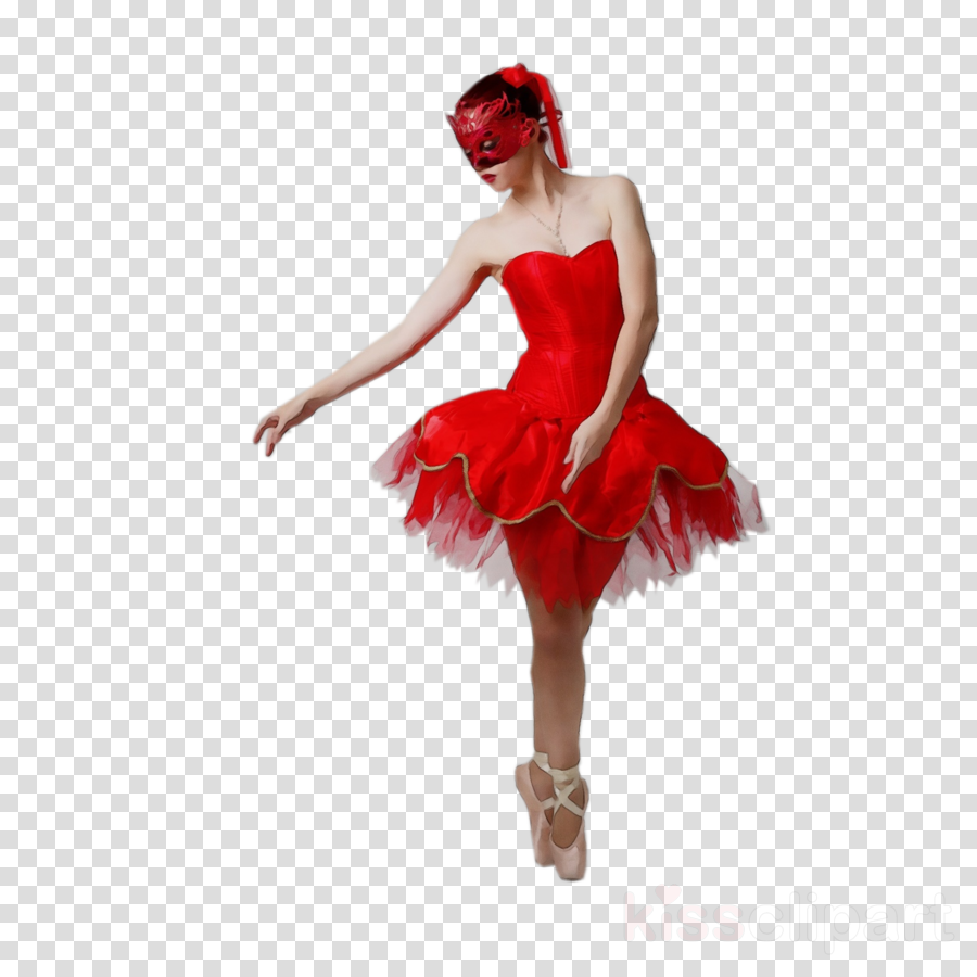 red costume ballet tutu clothing dancer