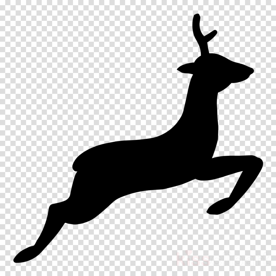 deer silhouette clip art dog breed tail