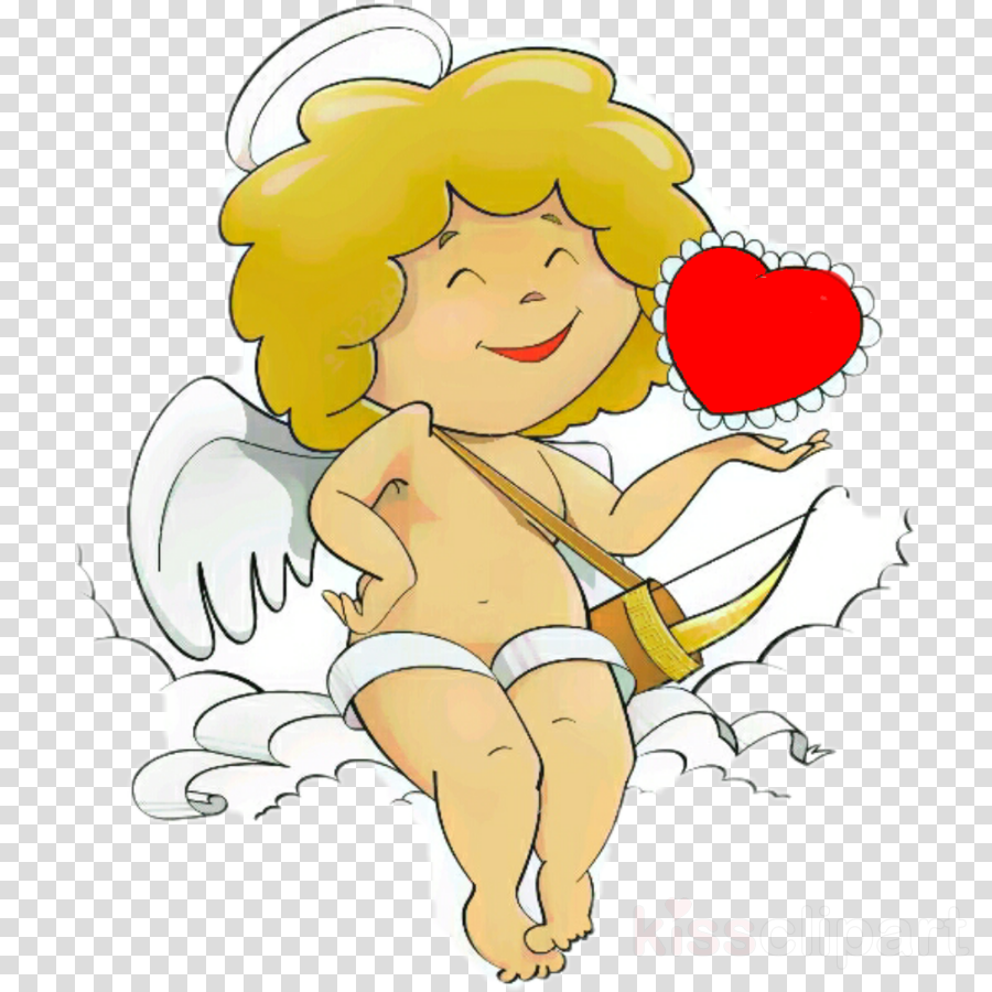 cartoon clip art cheek cupid heart
