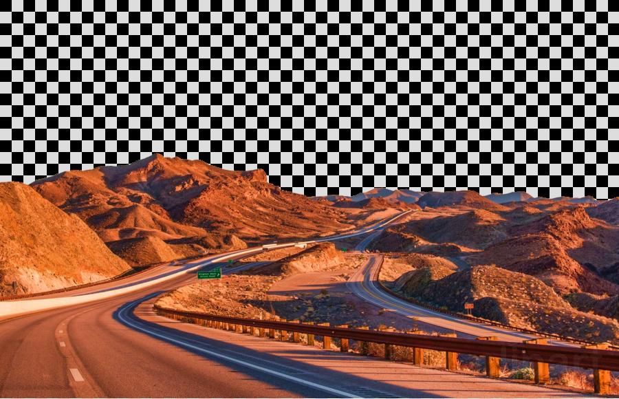 mountainous landforms road natural landscape landmark highway