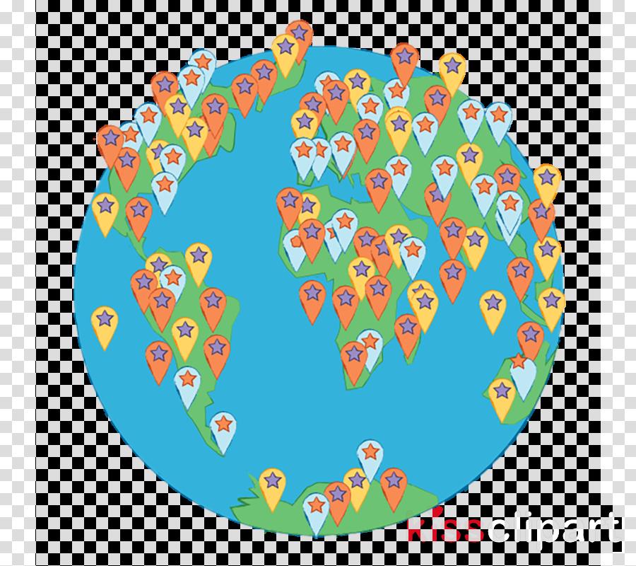 heart circle pattern plate