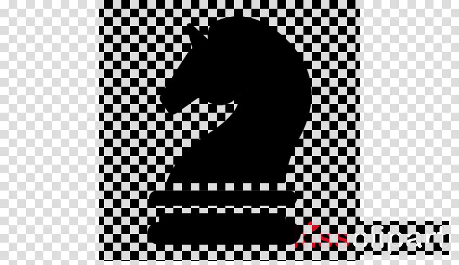 chess horse head games silhouette