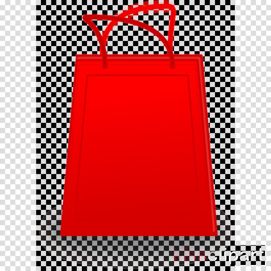 red bag paper bag