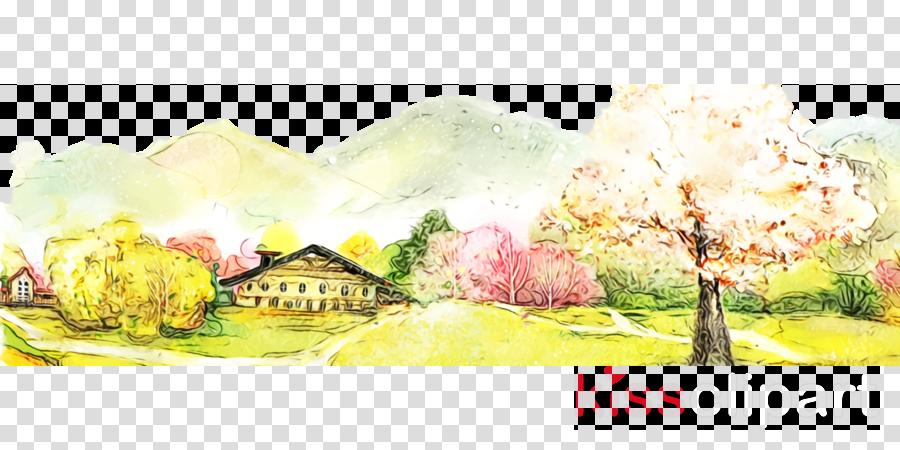watercolor paint painting paint landscape