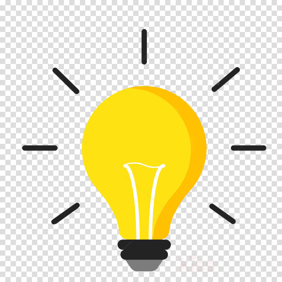 light bulb clipart yellow line lighting transparent clip art light bulb clipart yellow line