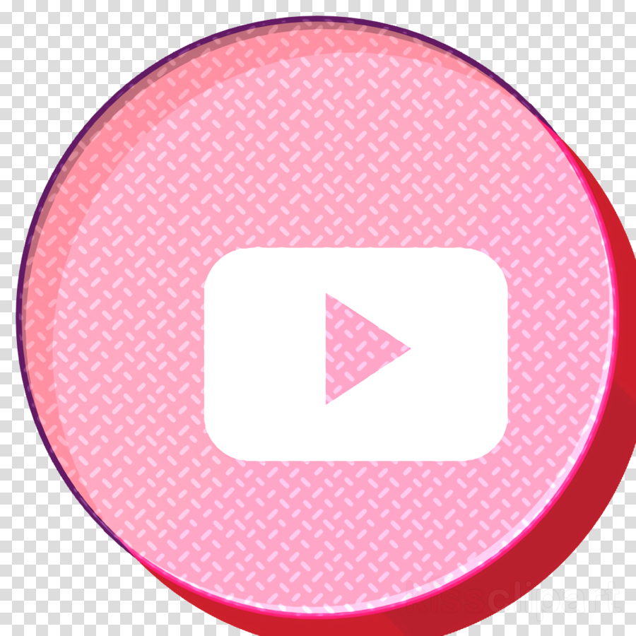 Social media icon Youtube icon