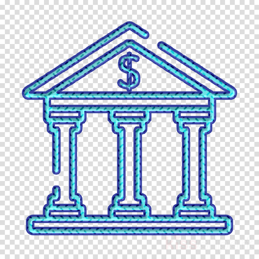 Bank icon Finance icon