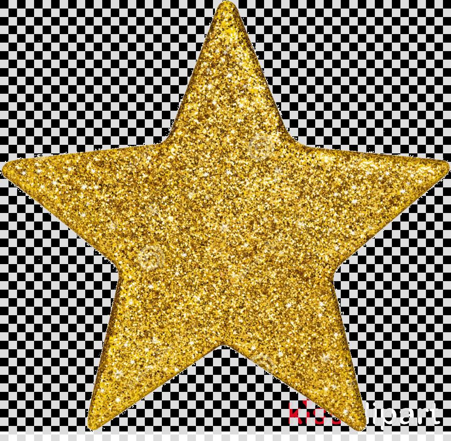 yellow glitter star gold gold