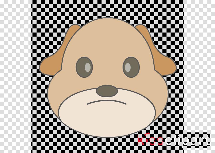 cartoon head clip art snout puppy