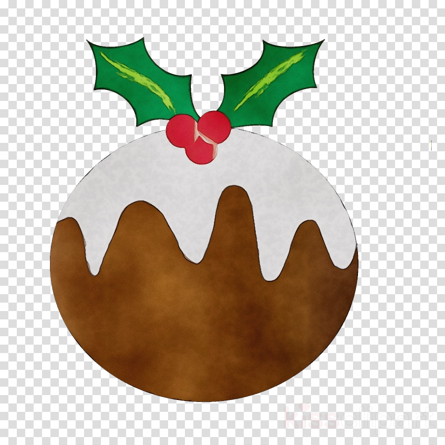 Christmas Pictures Clip Art.Christmas Pudding Clipart Holly Christmas Pudding Leaf