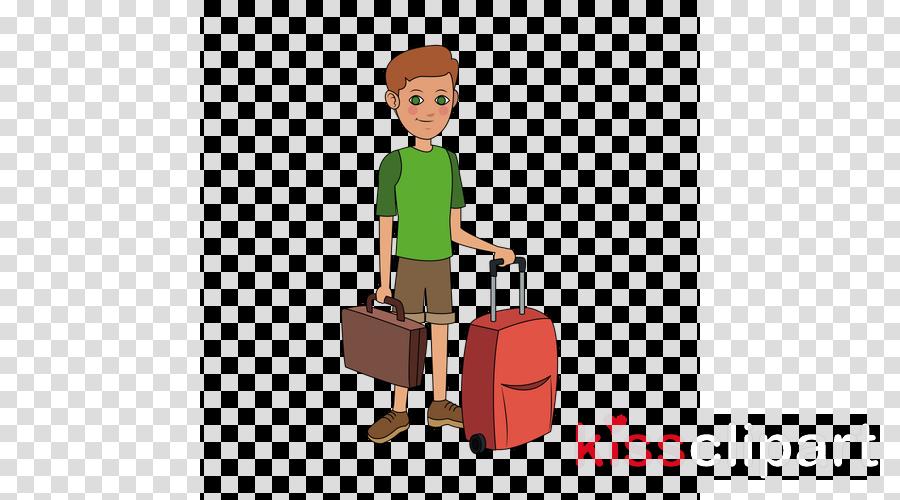suitcase cartoon baggage clip art job