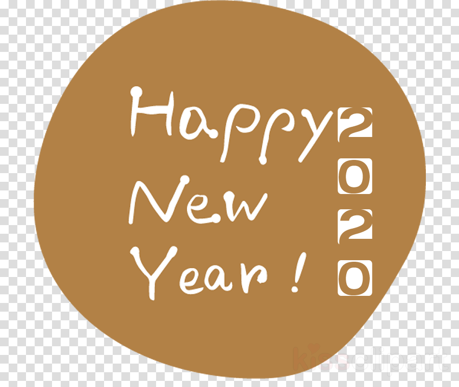 Happy New Year Clipart 2020 84