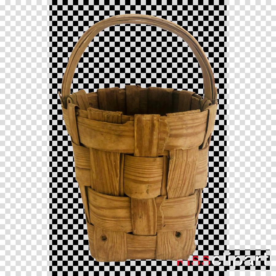 basket storage basket bucket beige wicker