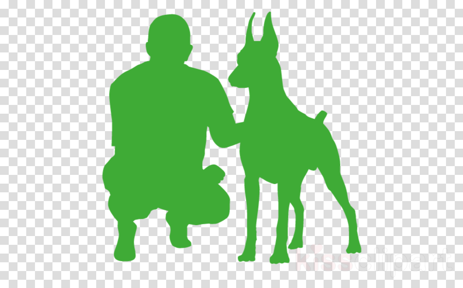 green dog clip art dog breed silhouette