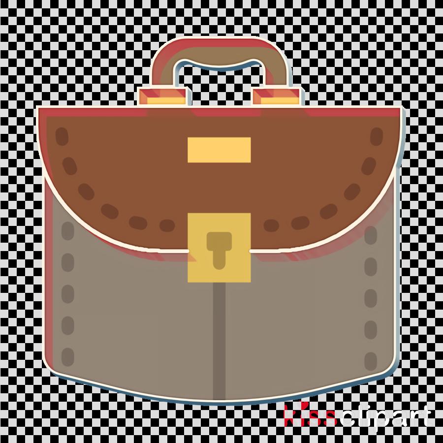 Business icon Suitcase icon Bag icon
