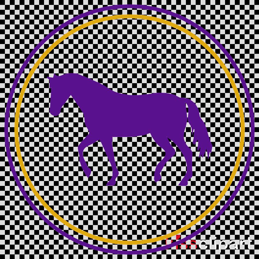 horse purple mane violet animal figure
