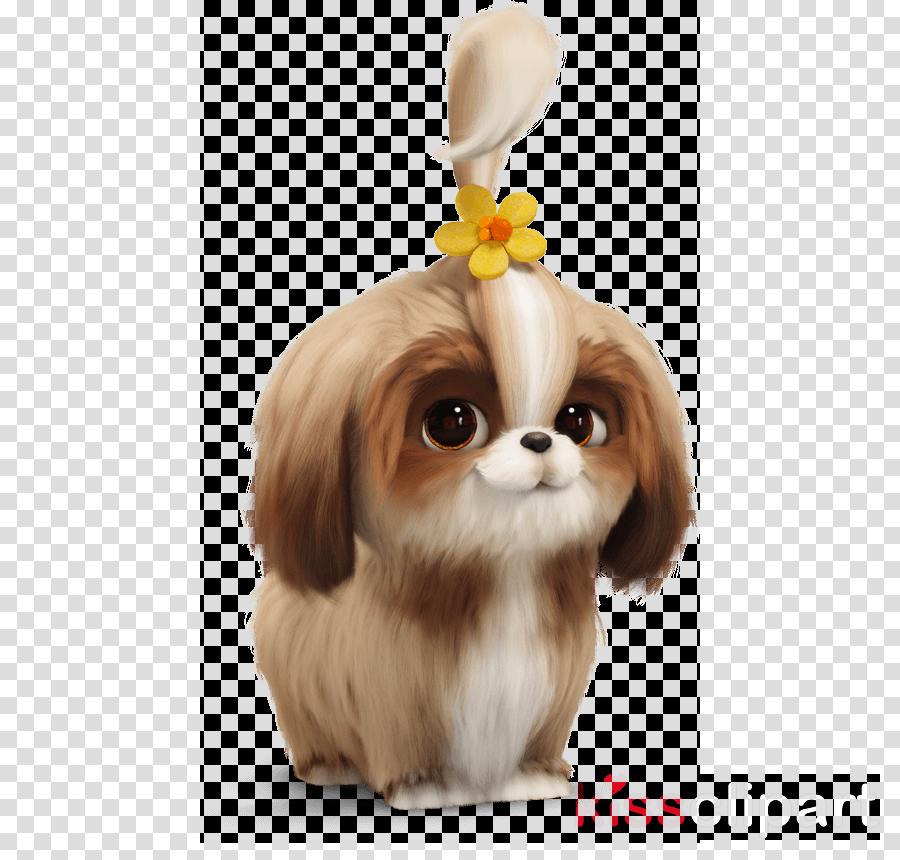 dog shih tzu puppy chinese imperial dog japanese chin