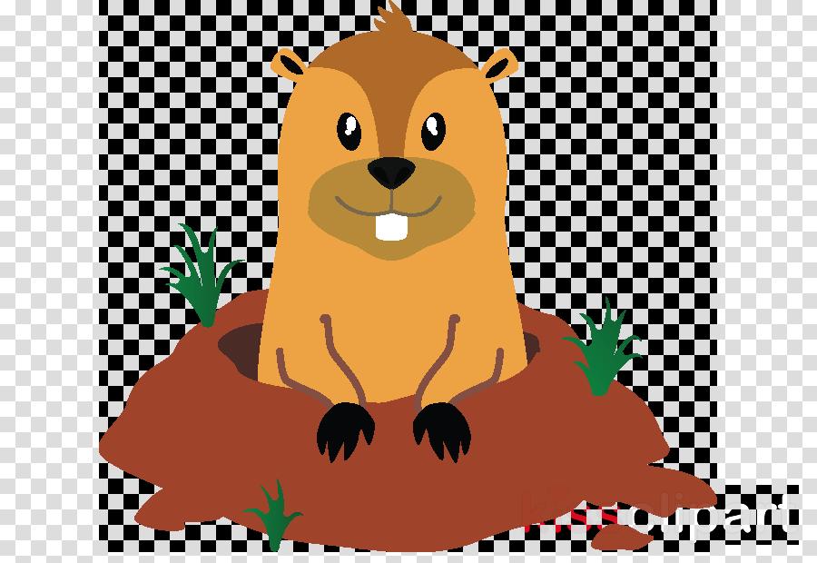 cartoon groundhog clip art beaver marmot