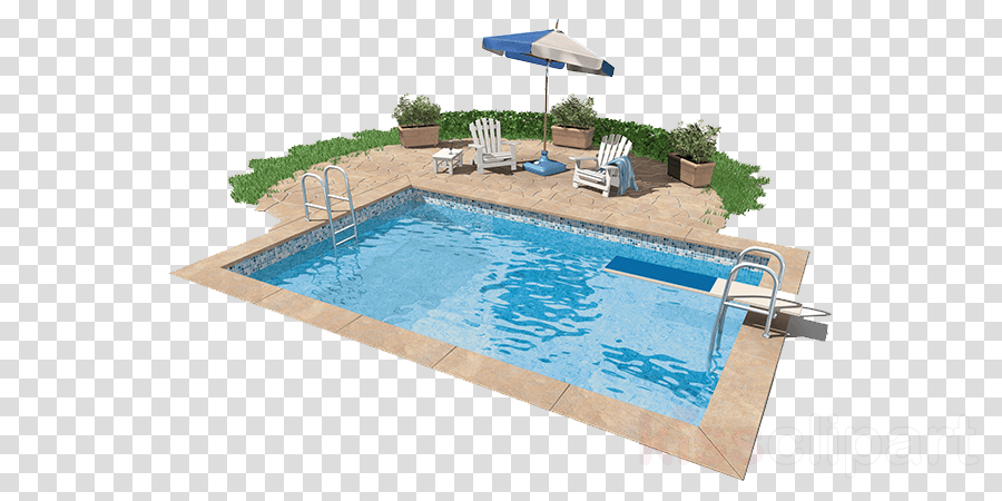 swimming pool rectangle leisure sunlounger swimming machine