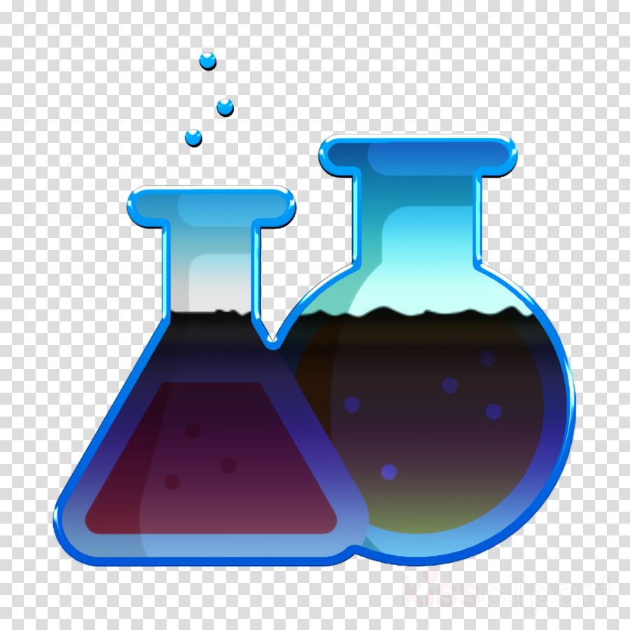 University icon Chemistry icon Flask icon
