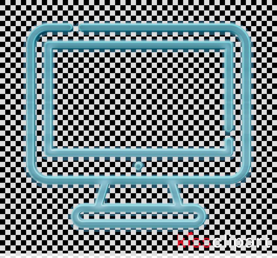 Computer icon Tv icon University icon