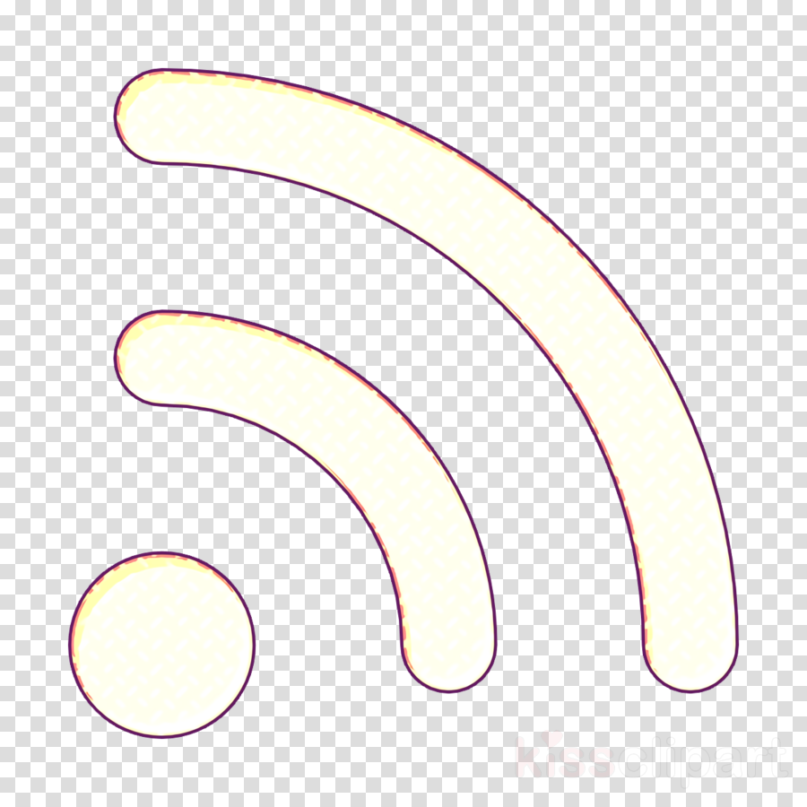 Communication and media icon Wifi signal icon
