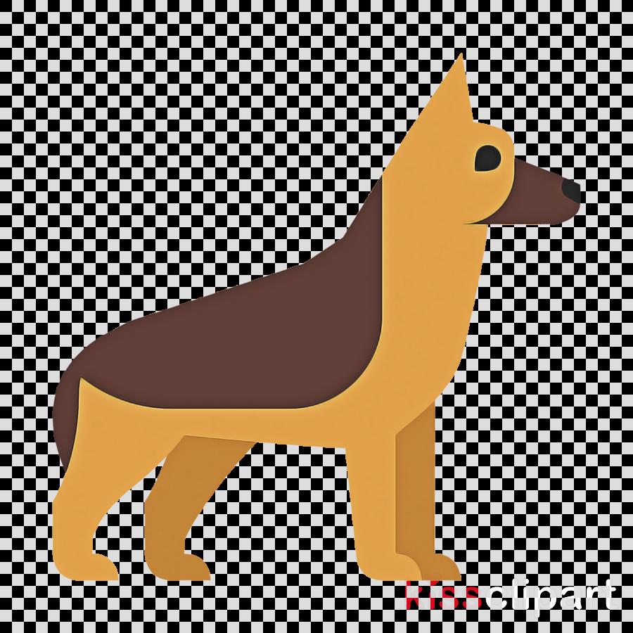 dog dog breed cartoon animal figure german shepherd dog