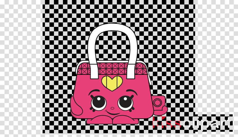 bag handbag pink red cartoon