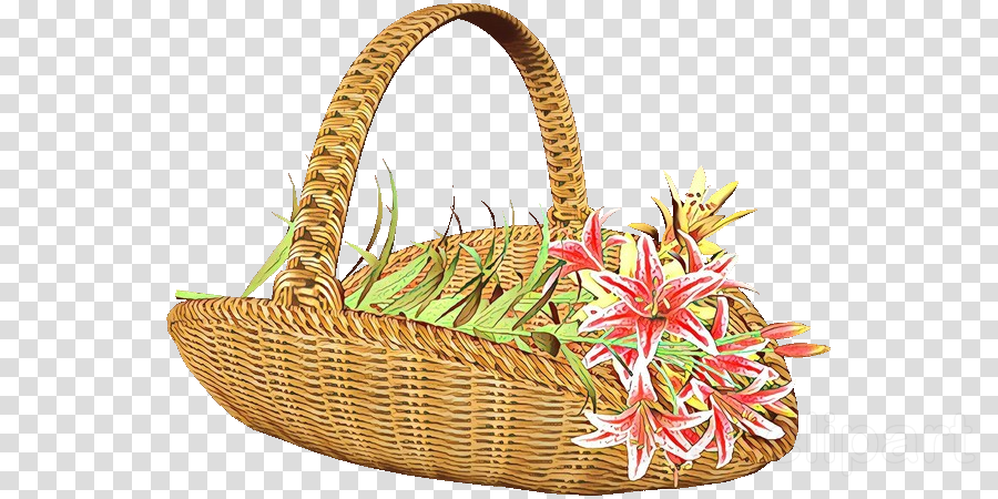 wicker gift basket basket picnic basket flower girl basket