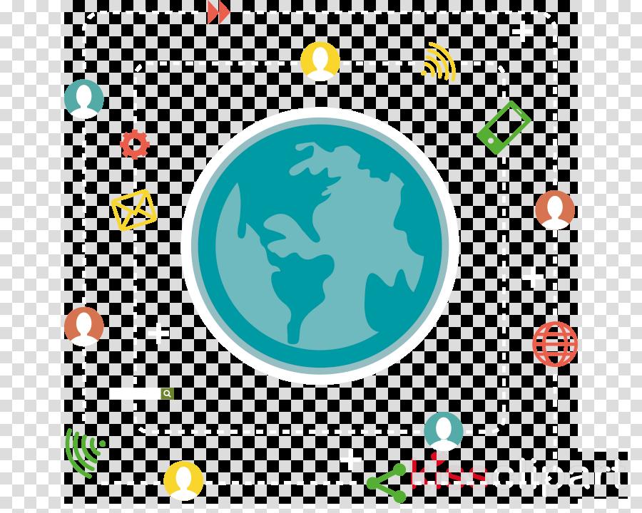 world font logo circle globe