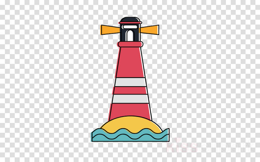 Cartoon Clip Art Tower Font Lighthouse Clipart Cartoon